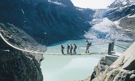 http://www.weirdlyodd.com/wp-content/uploads/2010/12/Hanging-Bridge-at-Trift-Glacier-Switzerland.jpg