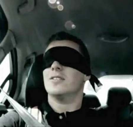 Blindfolded Driver law