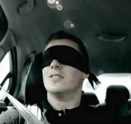 Blindfolded Driver law