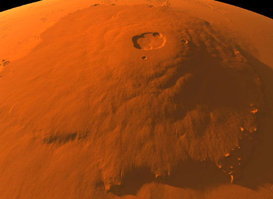 highest mountain in the solar system - photo #11