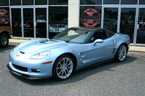 Chevy Carlisle Blue Grand Sport Concept