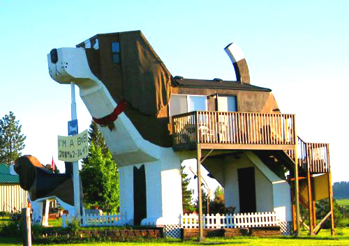 Dog Bark Park Inn in USA