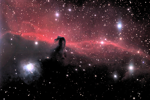 Horse Head Shaped Nebula