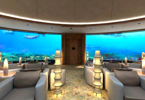 Jules Undersea Lodge in USA