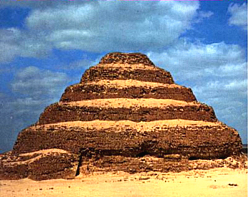 Pyramid of Djoser constructed for the burial of Pharaoh Djoser