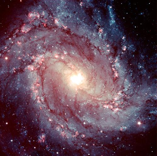 Southern Pinwheel Shaped Nebula