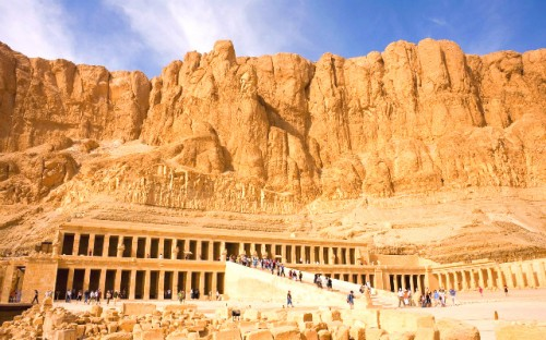 Temple of Hatshepsut built for Queen Hatshepsut
