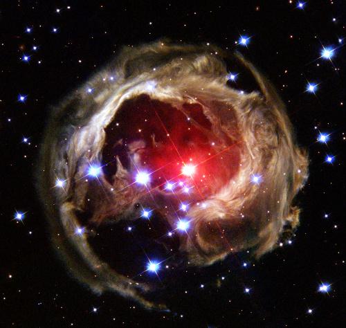 Starry Night shaped Nebula