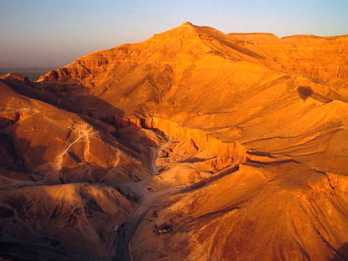 Valley of the Kings was constructed in 16th to 11th century BC