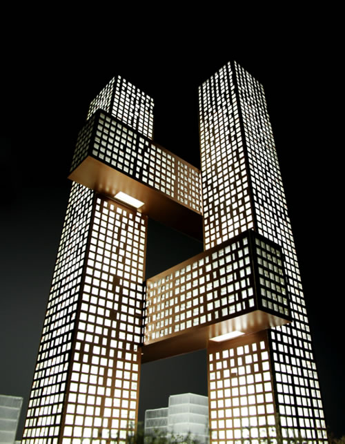 Top 10 weird shaped buildings in the world for Different architectural designs