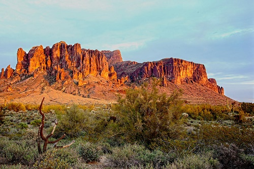 The Mountains of Superstitions