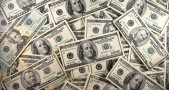 US Currency is seen in this January 30,