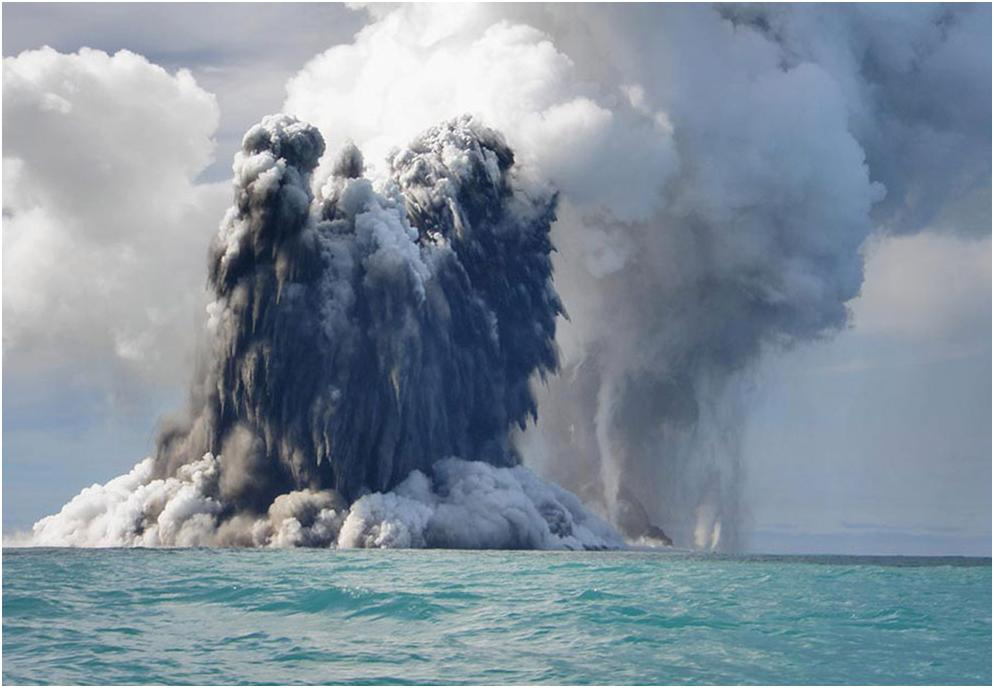 underwater volcanoes The meteorite that killed the dinosaurs may have also triggered underwater volcanoes in a new study, scientists peered into 100 million years of seafloor history to find something strange.