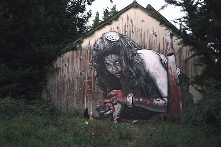 15 Really Weird, Amazing and Interesting Examples of Street Art