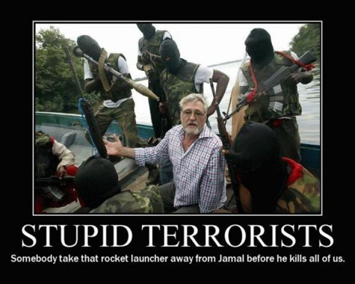 The Dumbest Terrorists on Earth