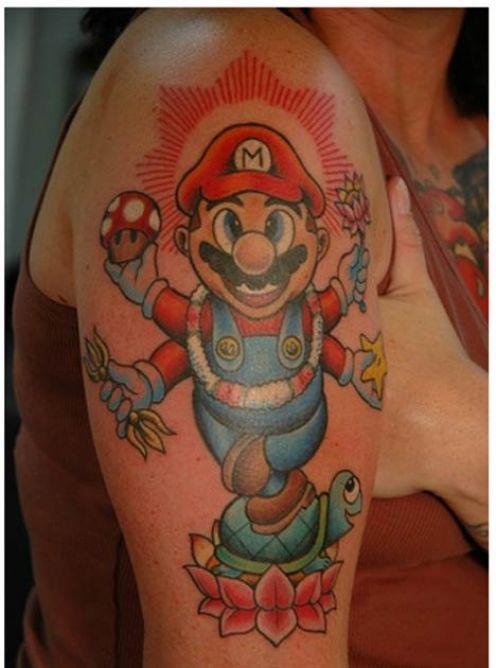 10 Die Hard Gaming Fans showing their Killer Tattoos ...