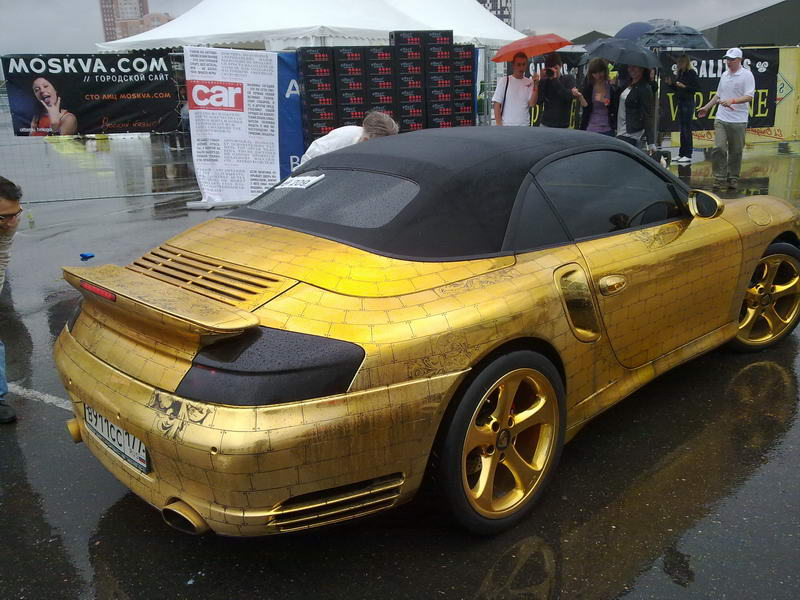 10 Luxurious Gold Plated Cars Weirdlyodd Com