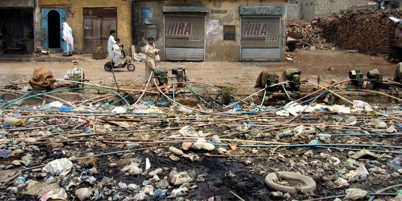 Pollution in Karachi