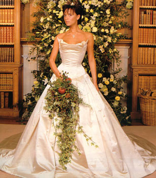 Imperial Pearl Syndicate Wedding Dress