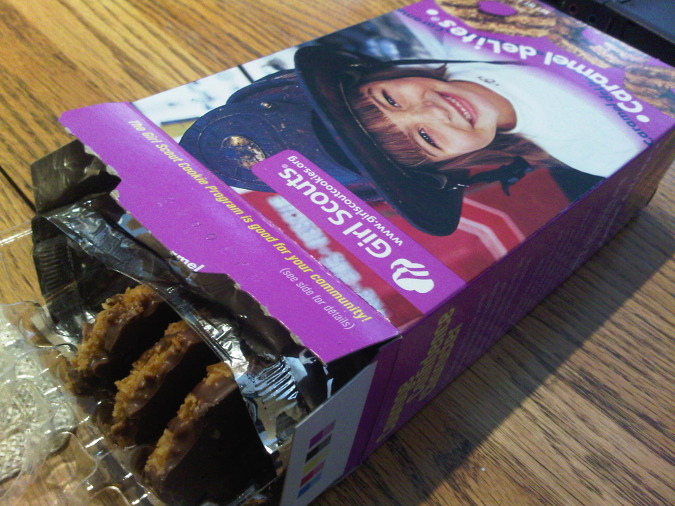 Best Selling Girl Scout Cookies Ever